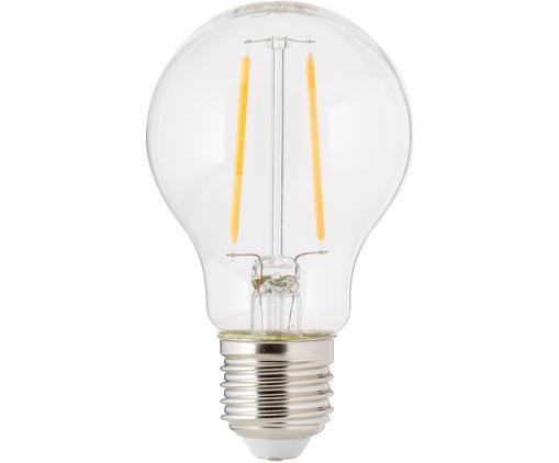 LED Leuchtmittel Humiel (E27/4.6W), Leuchtmittelschirm: Glas, Leuchtmittelfassung: Aluminium, Transparent, Ø 8 x H 10 cm