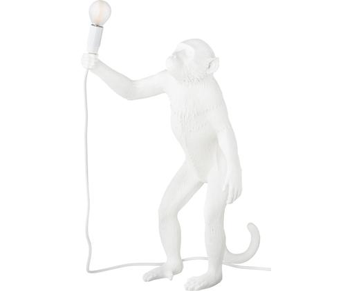 LED buitentafellamp Monkey, Kunsthars, Wit, 46 x 54 cm