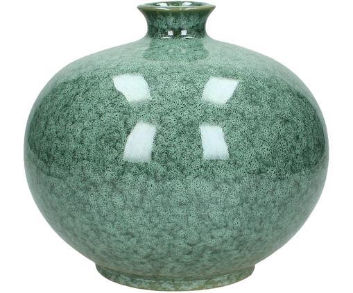 Vaso da decorazione Ina, Ceramica non impermeabile, Verde, Ø 21 x A 19 cm