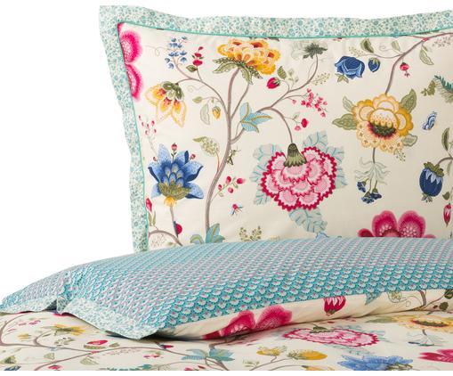 Perkal-Bettwäsche Floral Fantasy, Mehrfarbig