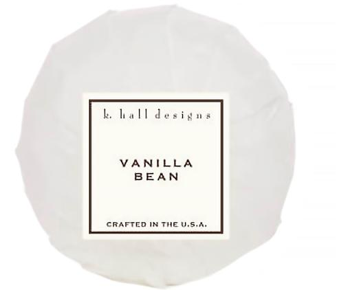 Kula do kąpieli Vanilla Bean (wanilia & tonkowiec wonny), Biały, Ø 7 x W 7 cm