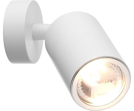 Wandleuchte Tori, Aluminium, beschichtet, Weiß, Ø 6 x H 13 cm