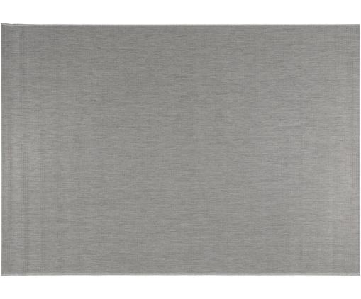 In- & Outdoor-Teppich Metro, Polypropylen, Hellgrau, B 80 x L 150 cm (Größe XS)