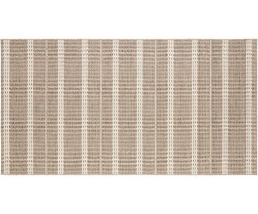 In- und Outdoor Teppich Laon, Jute-Look, 100% Polypropylen, Braun, Beige, B 80 x L 150 cm (Größe XS)