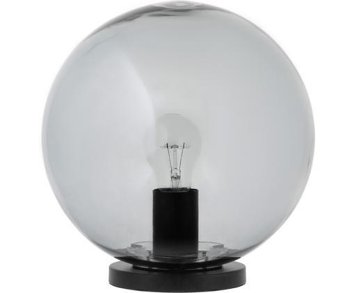 Lampa stołowa Beth, Szary, czarny, Ø 25 x W 26 cm