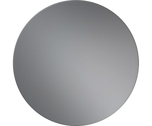 Okrągłe lustro ścienne z przyciemnianego szkła lustrzanego Erin, Antracytowy, Ø 50 cm