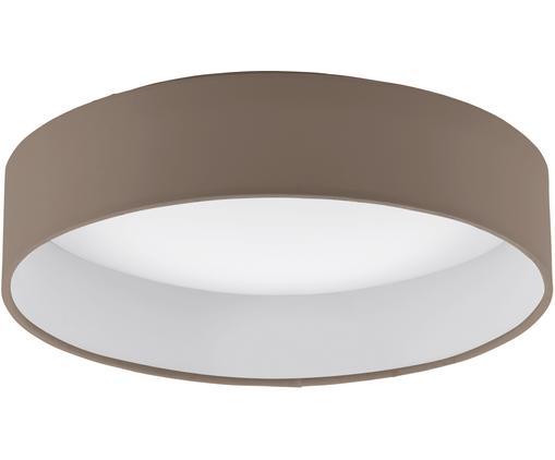 LED-Deckenleuchte Paloma, Taupe, Ø 32 x H 9 cm