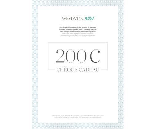 Chèque cadeau à imprimer 200 €, Multicolore