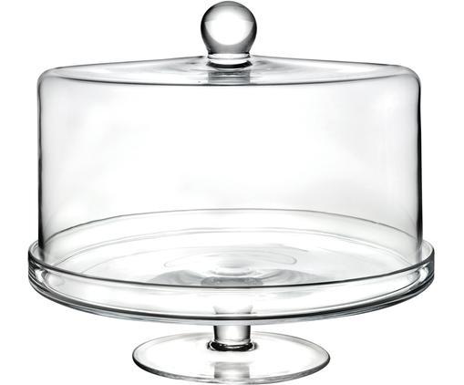 Fuente para poste de vidrio Maja, Cristal Luxion, Transparente, Ø 30 x Al 25 cm