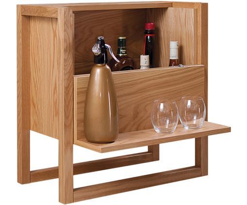 Mini bar NewEst, Legno di quercia, Larg. 59 x Alt. 60 cm