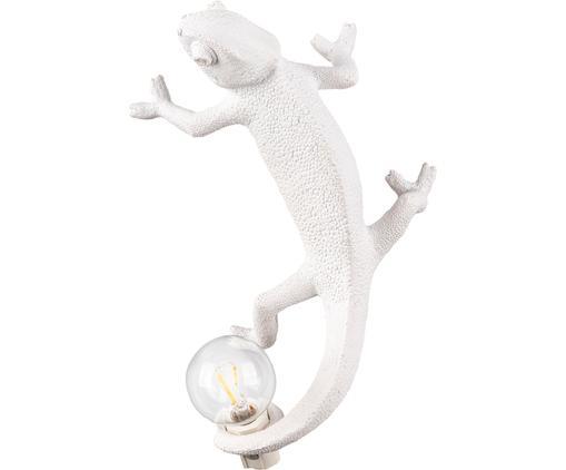 Applique décorative avec prise secteur Chameleon, Blanc
