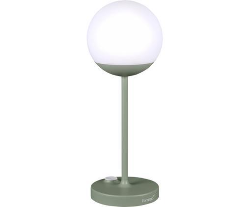 Mobile LED Außenleuchte Mooon, Lampenschirm: Kunststoff, Grün, Ø 15 x H 41 cm