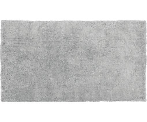 Tapis épais et moelleux gris Leighton, Gris foncé