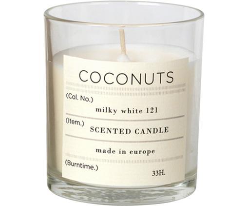 Candela profumata Bliss (cocco), Cera di soia naturale, vetro, Trasparente, A 8 cm