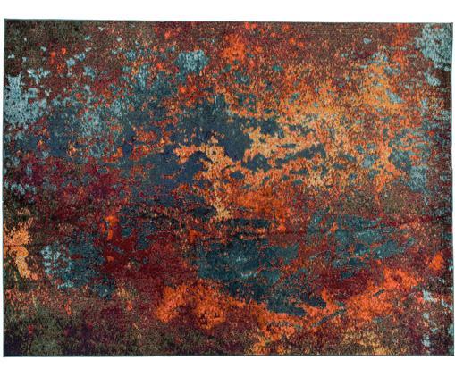 Designteppich Celestial in Bunt, Flor: 100% Polypropylene, Rottöne, Blautöne, Grün, B 240 x L 320 cm (Größe L)