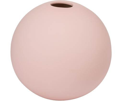 Handgefertigte Kugel-Vase Ball, Keramik, Rosa, Ø 8 x H 8 cm