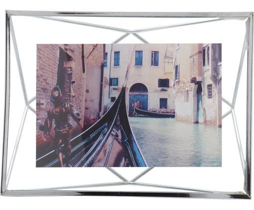 Cornice Prisma, Cornice: acciaio, Cromo, 10 x 15 cm