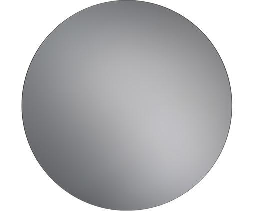 Specchio da parete Erin, Superficie dello specchio: lastra di vetro, Retro: pannello di fibra a media, Antracite, Ø 80 cm