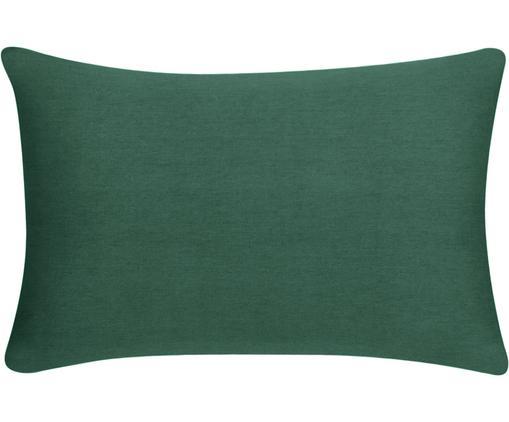 Baumwoll-Kissenhülle Mads in Grün, 100% Baumwolle, Grün, 30 x 50 cm