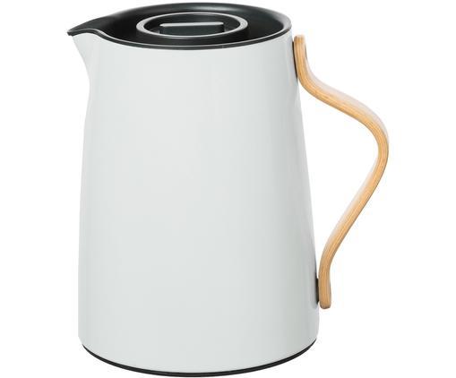 Zaparzacz do herbaty Emma, Korpus: stal, Biały z niebieskim nalotem, 1 l