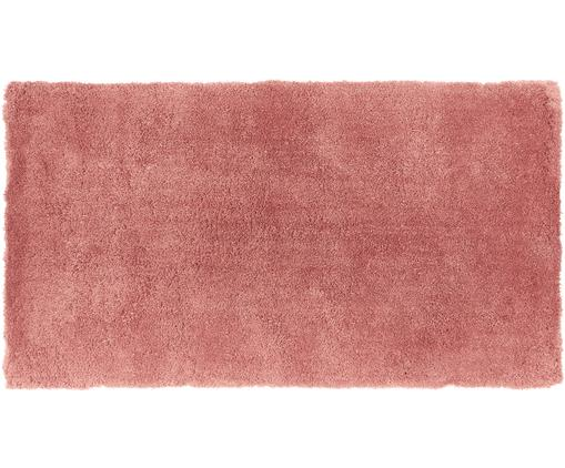 Tappeto peloso morbido Leighton, Retro: 100% poliestere, Terracotta, Larg. 80 x Lung. 150 cm (taglia XS)
