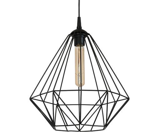 Lampa wisząca Basket, Czarny