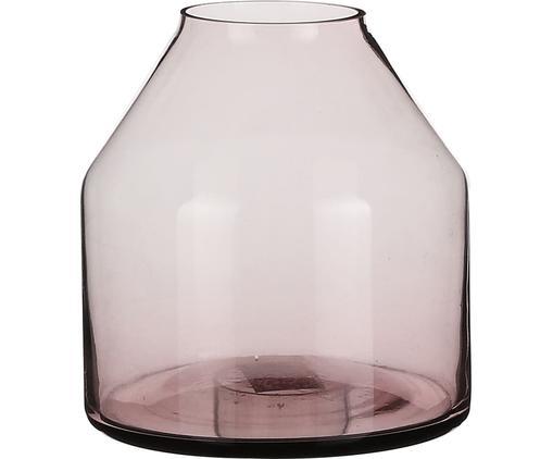 Vaso in vetro Farah, Vetro, Lilla, trasparente, Ø 15 x Alt. 15 cm