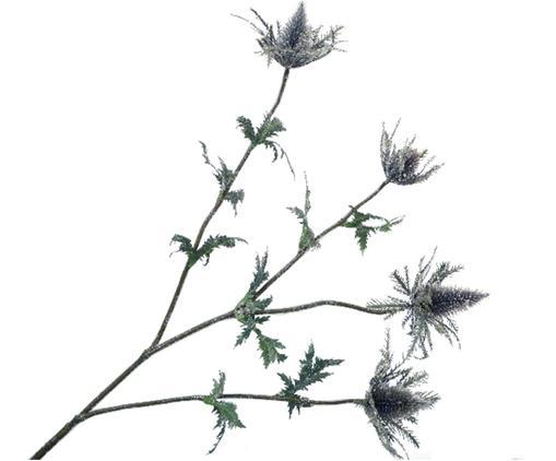 Fiore artificiale cardo Daniel, Materiale sintetico, metallo, Lilla, grigio, verde, Lung. 77 cm