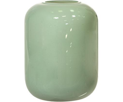 Kleine Glas-Vase Karla, Mintgrün