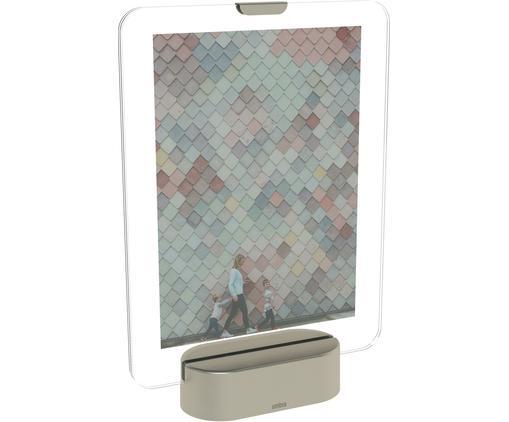 Cornice fotografica a LED Glo, Color nichel, 13 x 18 cm