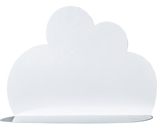 Estante de pared Cloud, Metal pintado, Blanco, An 40 x Al 30 cm