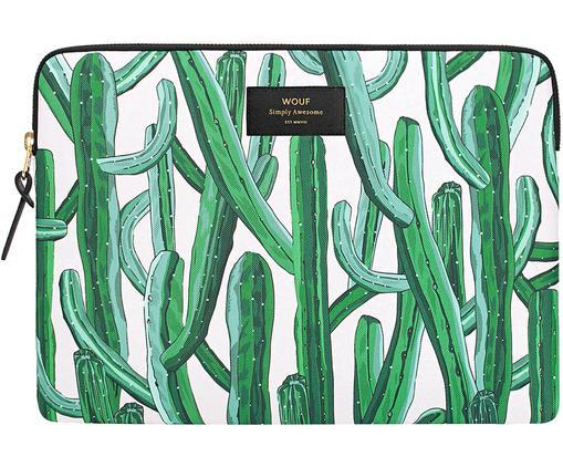 Laptophülle Wild Cactus für MacBook Pro/Air 13 Zoll, Grün, 33 x 23 cm