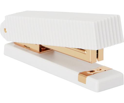 Tacker Essentials, Kunststoff, Metall, Weiß, Messingfarben, 13 x 7 cm