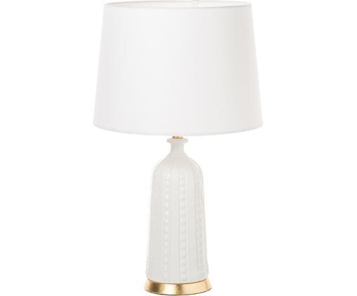 Lampa stołowa XL Nizza, Biały, Ø 36 x W 70 cm