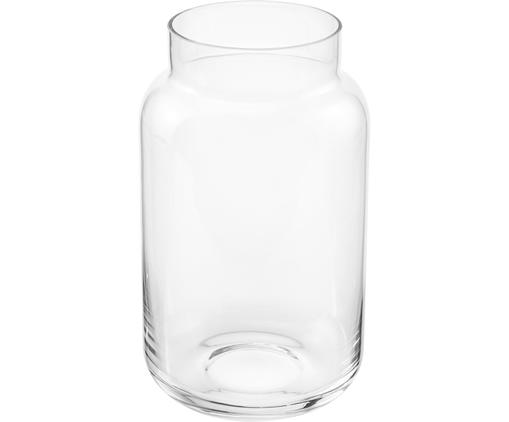 Vase en verre Lasse, grand, Transparent