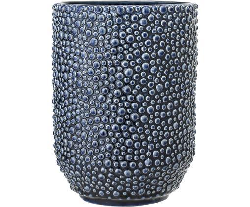 Vaso in ceramica Ozean, Ceramica, Blu, Ø 15 x Alt. 21 cm