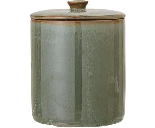 Pojemnik do przechowywania Pixie, Kamionka, silikon, Zielony, Ø 11 x W 14 cm