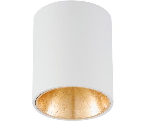 Lampa spot LED Marty, Biały,odcienie złotego, ∅ 10 x W 12 cm