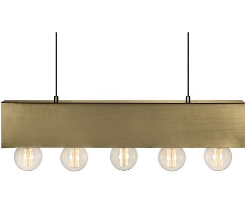 Lampada a sospensione Couture, Ottone, L 80 x A 12 cm