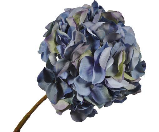 Kunstblume Hortensie Takita, Blüte: Kunststoff, Stiel: Metall, Blautöne, L 53 cm