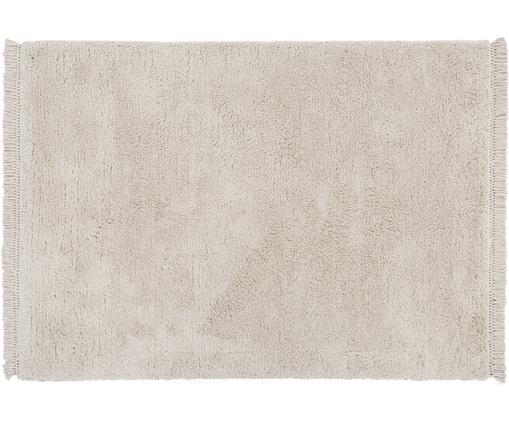 Puszysty dywan o wysokim stosie z frędzlami Dreamy, Kremowy, S 120 x D 180 cm (Rozmiar S)