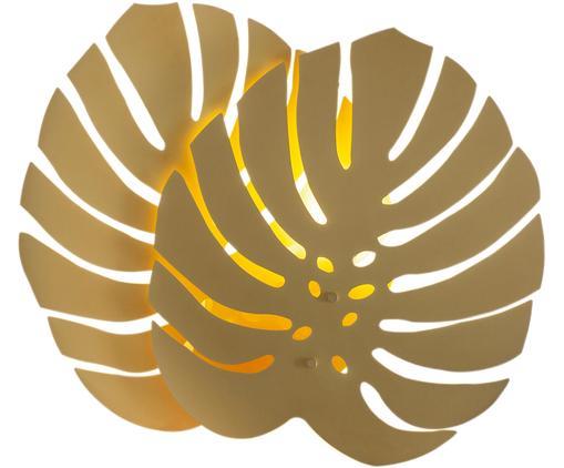 Applique en laiton avec prise secteur Costa Rica, Couleur laitonnée