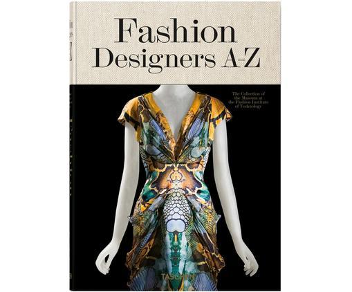 Libro illustrato Fashion Designer A-Z, Nero, crema, multicolore, Larg. 18 x Lung. 24 cm