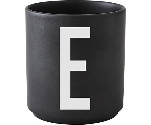 Mug Personal (variantes deA à Z), Noir mat, blanc