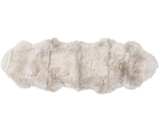 Schaffell-Teppich Oslo, glatt, Flor: 100% Schaffell, Beige, 60 x 180 cm
