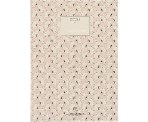 Quaderno Tren, Carta riciclata, Rosa, Lung. 25 x Larg. 18 cm