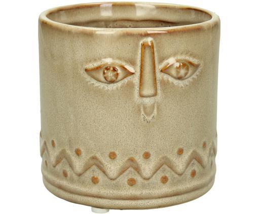 Portavaso in ceramica Sandy, Ceramica, Marrone, Ø 12 x Alt. 11 cm