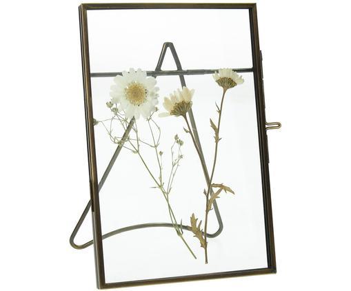 Ramka na zdjęcia Dried Flower, Metal powlekany, Odcienie mosiądzu, 10 x 15 cm