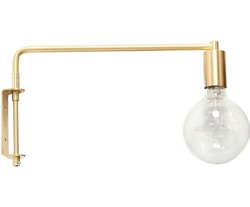 Applique LED en métal doré Indie, Laiton