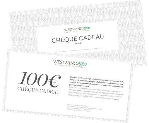 Chèque cadeau 100€, Blanc